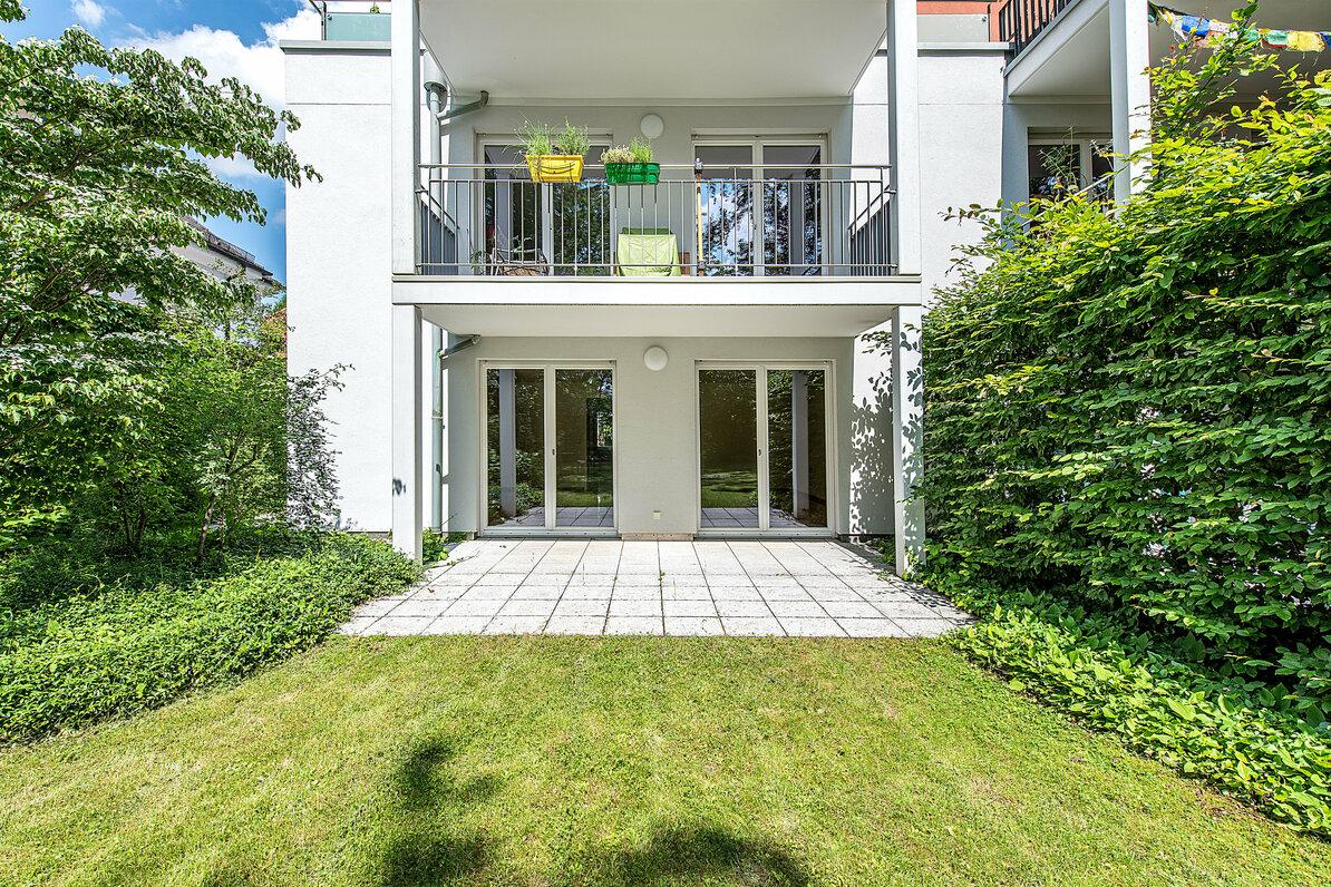 3-Zimmer-Wohnung mit Terrasse in grüner Lage